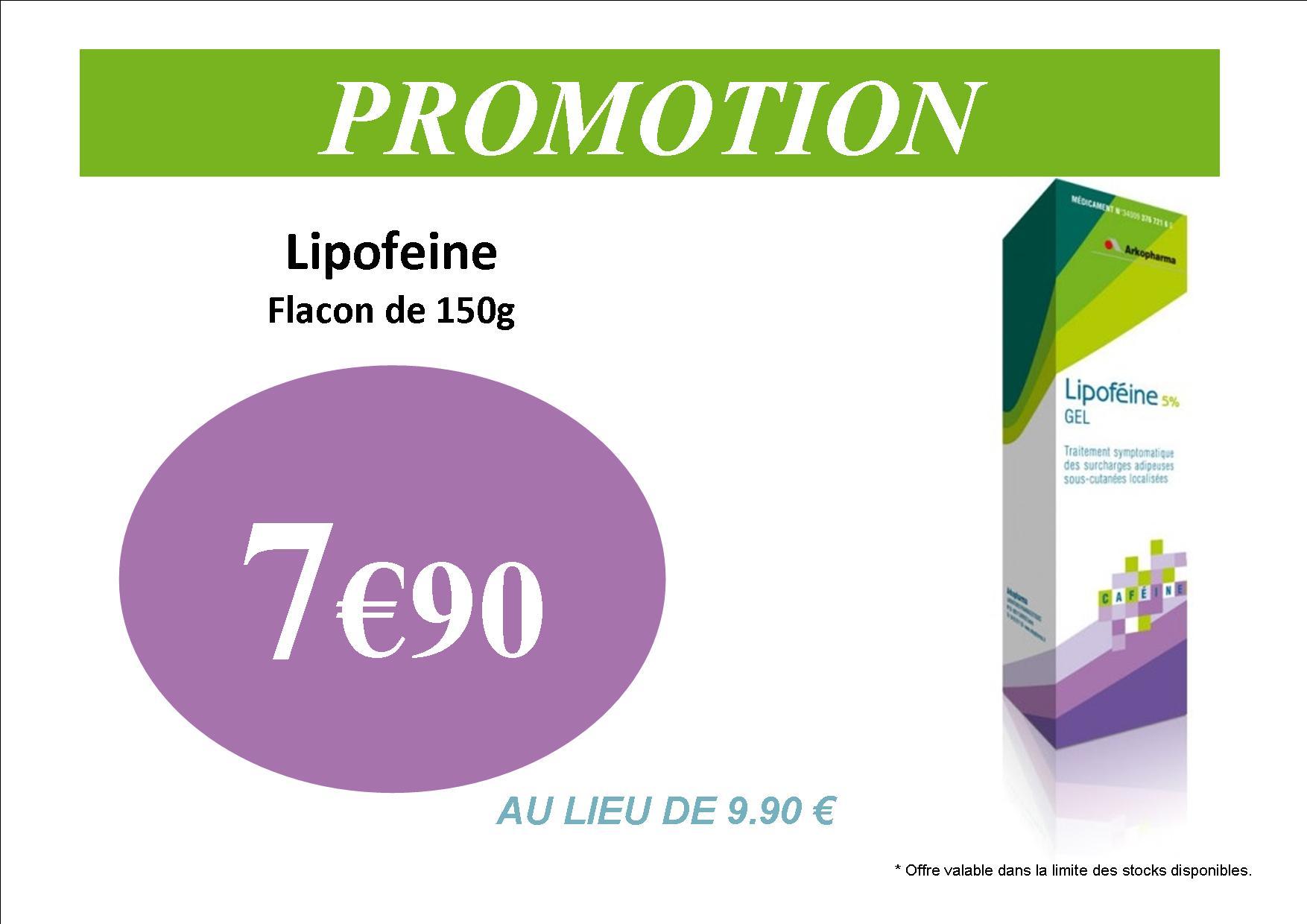 lipofeine gel minceur arkopharma cafeine