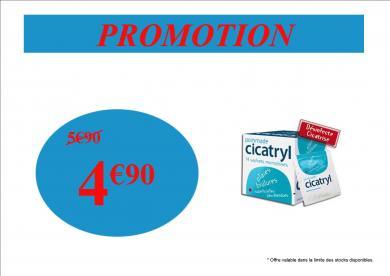 PROMOTION ETE CICATRYL