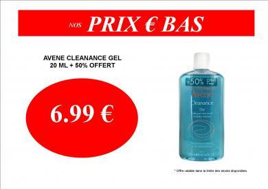 AVENE CLEANANCE GEL 6.99