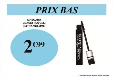 MASCARA 2.99 EXTRA VOLUME