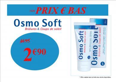 OSMOSOFT BRULURES PAS CHER PROMO
