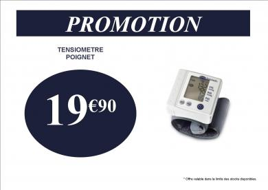 TENSIOMETRE POIGNET 19.90 €