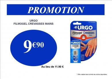 URGO CREVASSES PROMO 9.90€