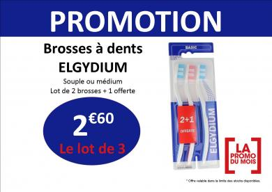 brosse à dents elgydium