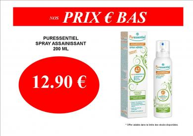 PURESSENTIEL SPRAY ASSAINISSANT 12.90 €