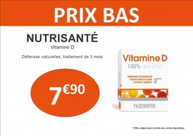 vitamine D nutrisanté défenses immunitaires