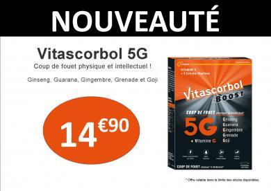 vitascorbol 5G cooper boost vitamine C